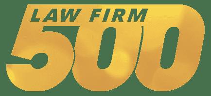 law firm 500 award
